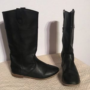 Old navy Black Tall Riding boot 5